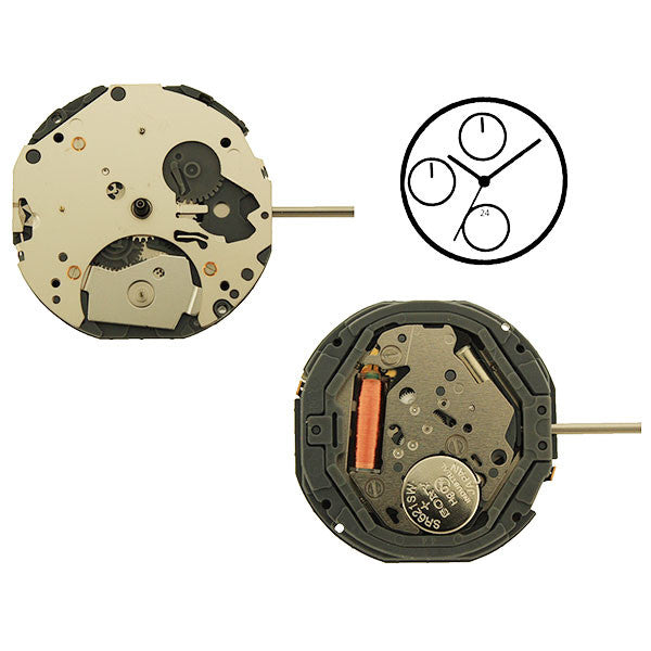 6P77 Miyota Watch Movement (9345992068)