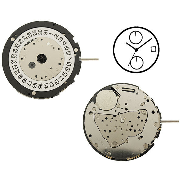 6S11 Miyota Watch Movement (9345993092)