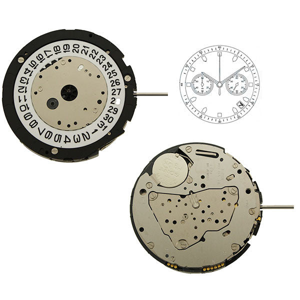 6S21 Miyota Watch Movement (9345993284)