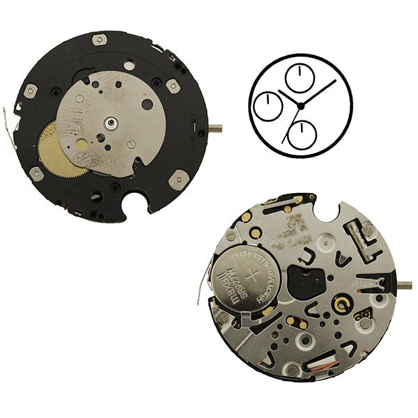 6W60 Miyota Watch Movement