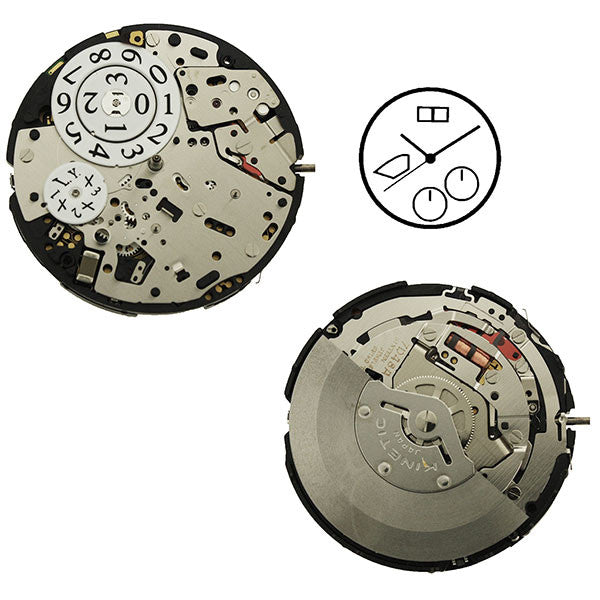 Seiko Watch Movement 7D4820