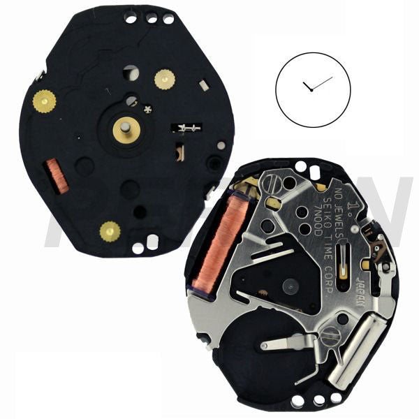7N00 10 Watch Movement