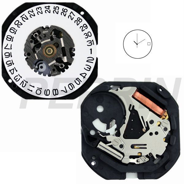 7N32 20 Watch Movement