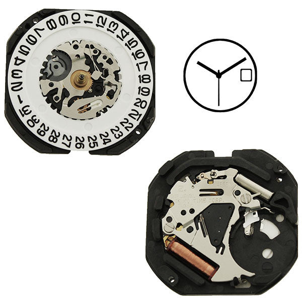 7N35 20 Seiko Watch Movement