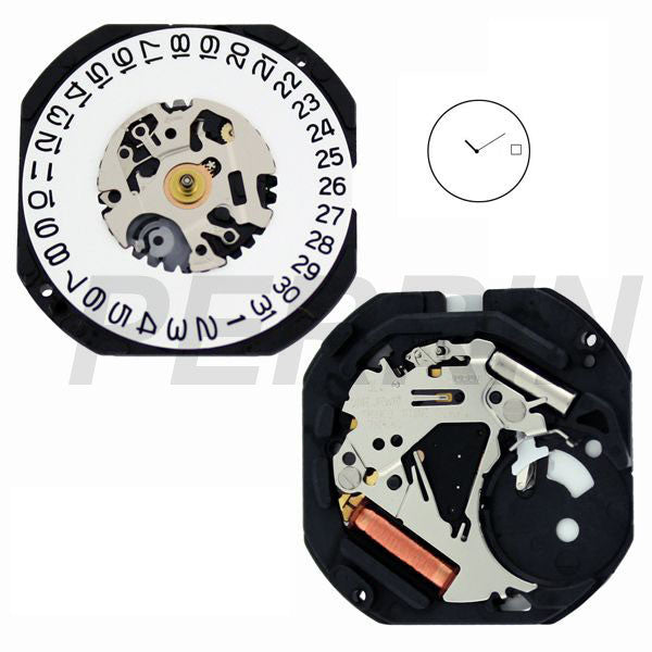 7N39 10 Watch Movement