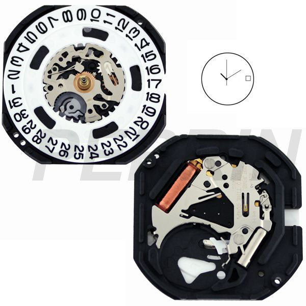 7N42 20 Watch Movement