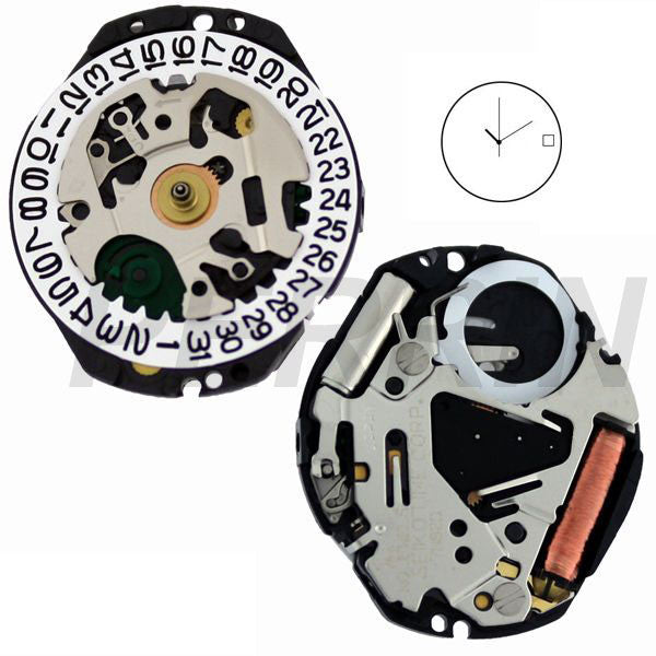 7N82 10 Watch Movement