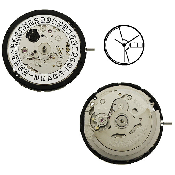 7S26 23 Seiko Watch Movement