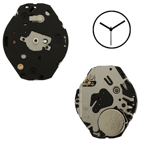 7T35 Miyota Watch Movement