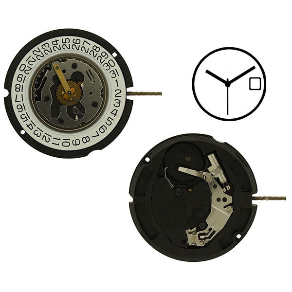 ETA 804-114 Watch Movement (9346001796)