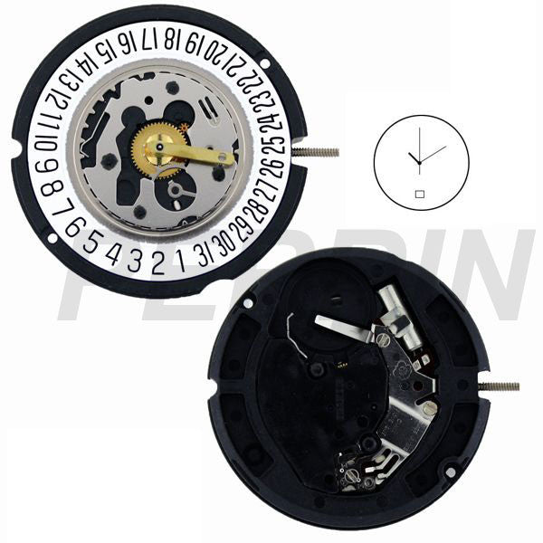 ETA 804-114 date 6 Watch Movement (9346002052)