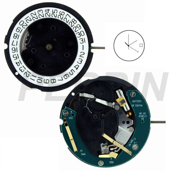 ETA 804-192 Watch Movement