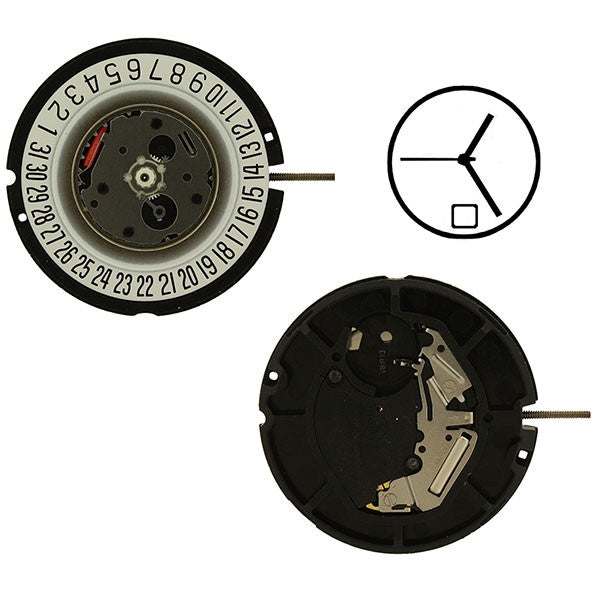 ETA 805-112 date 6 Watch Movement