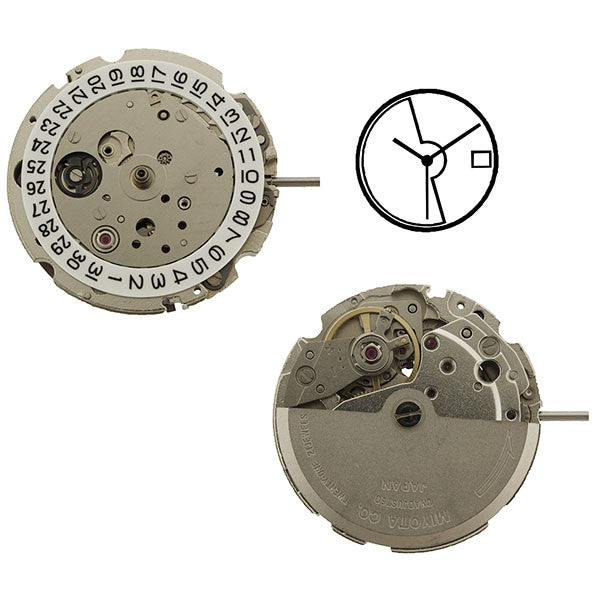 8215 Miyota Watch Movement
