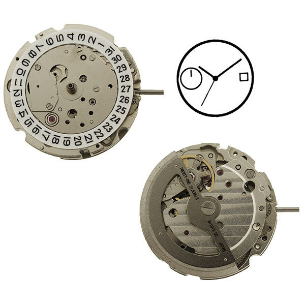8217 Miyota Watch Movement