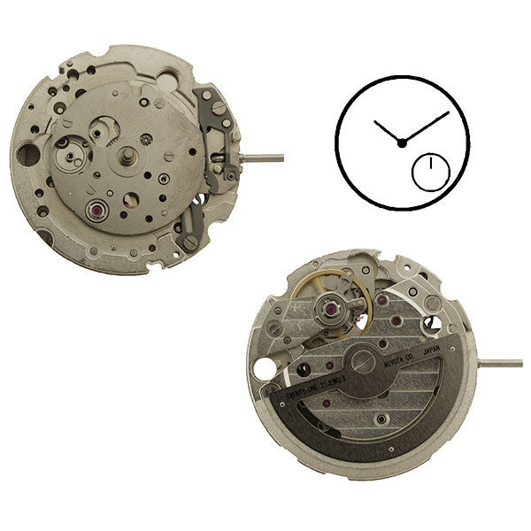 8245 Miyota Watch Movement