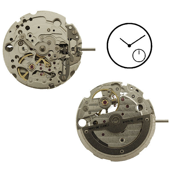 82S5 Miyota Watch Movement (9346005700)