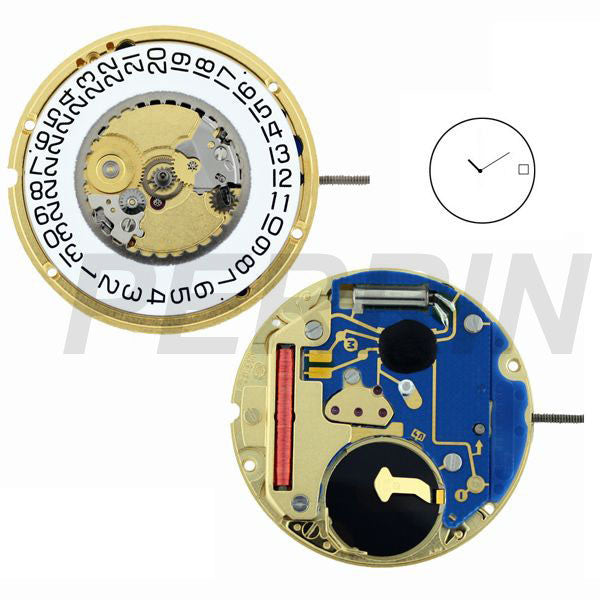 ETA 955-412 H0 2 Hands Watch Movement (9346013188)