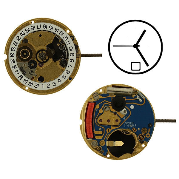 ETA 956-112 H0 Sweep Date 6 Watch Movement (9346017796)
