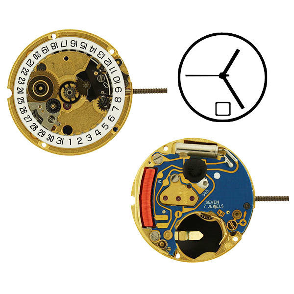 ETA 956-112 H1 Sweep Date 6 Watch Movement