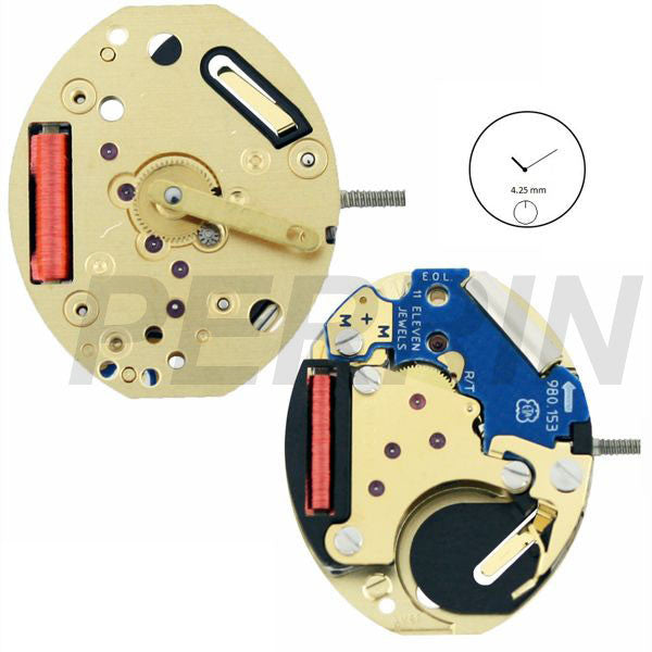 ETA 980-153 H1 Watch Movement (9346024004)