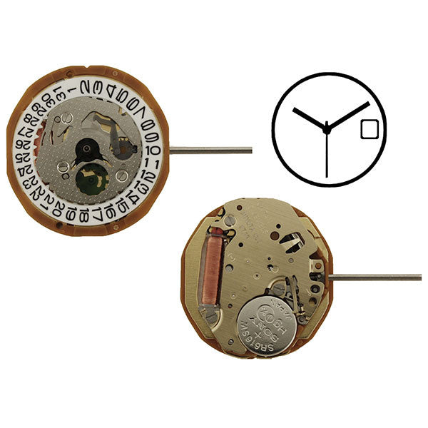 9T13 Miyota Watch Movement (9346025220)