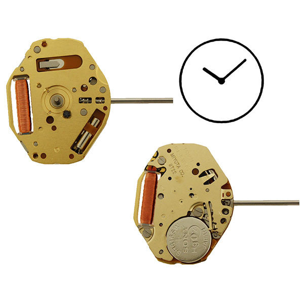 9T22 Miyota Watch Movement
