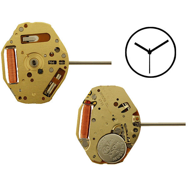9T33 Miyota Watch Movement