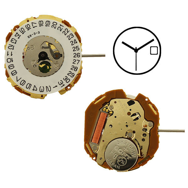 9U13 Miyota Watch Movement
