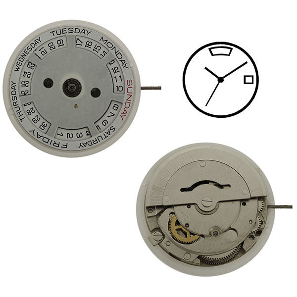 DG2812 Chinese Automatic Watch Movement