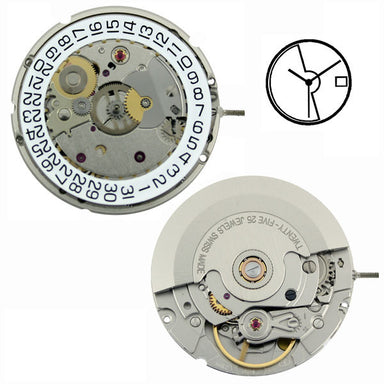 ETA 2824-2 Automatic with Date Watch Movement (9346039492)