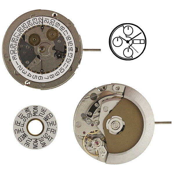 ETA 7750 Automatic Chronograph Watch Movement