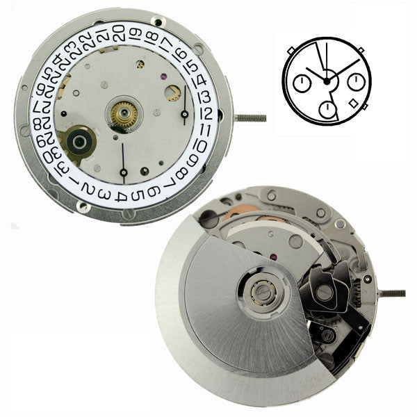 ETA 7753 Automatic Chronograph Watch Movement (9346043780)