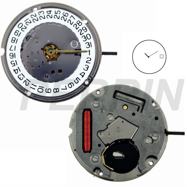 ETA F04-114 2 Hands Watch Movement