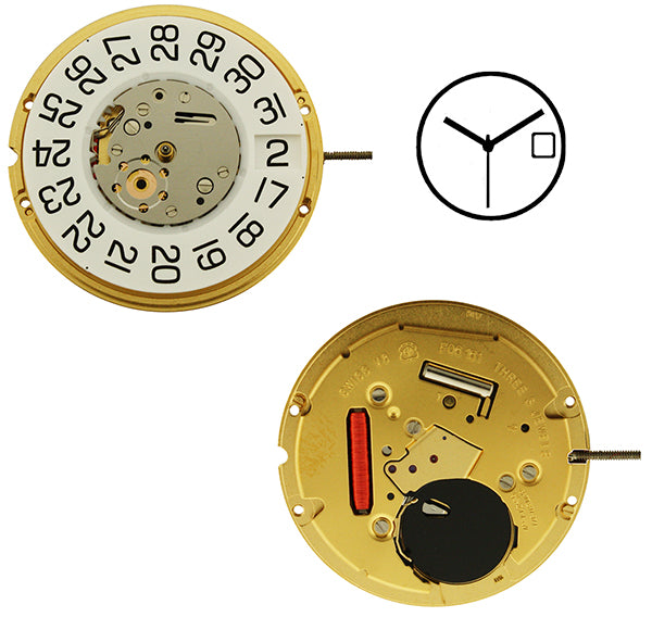 ETA F06-161 Watch Movement (9346051076)