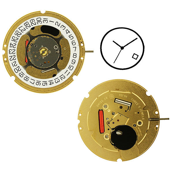 ETA F07-111-4 Watch Movement