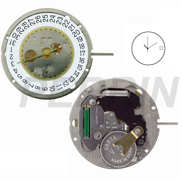 FE 7121-3 Watch Movement (9346053764)