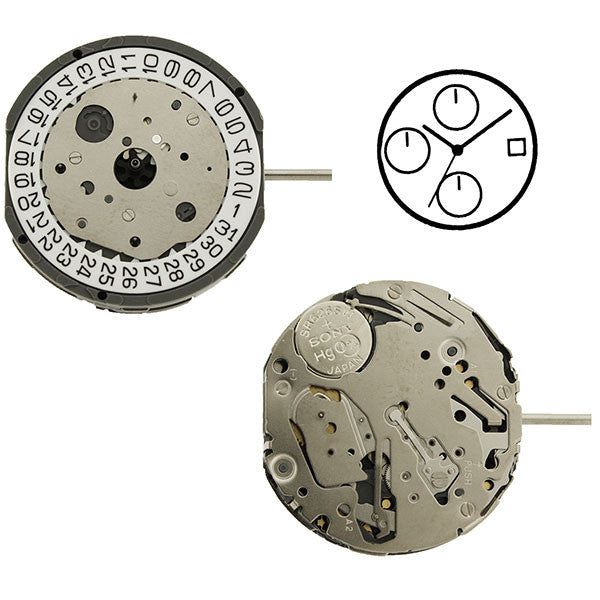 FS13 Miyota Watch Movement (9346058180)