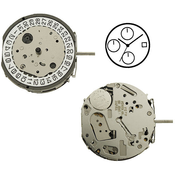 FS17 Miyota Watch Movement (9346058820)