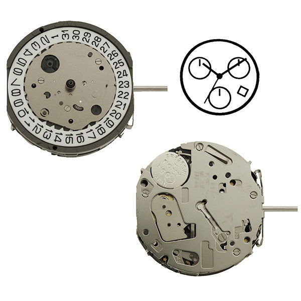FS27 Miyota Watch Movement (9346060100)