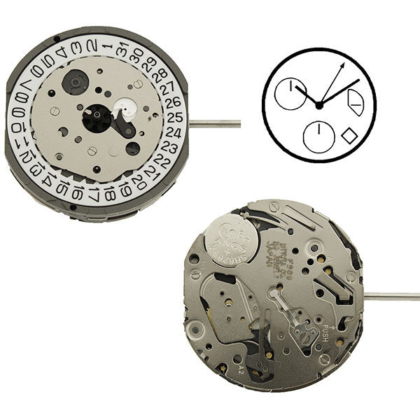 FS60 Miyota Watch Movement (9346060292)