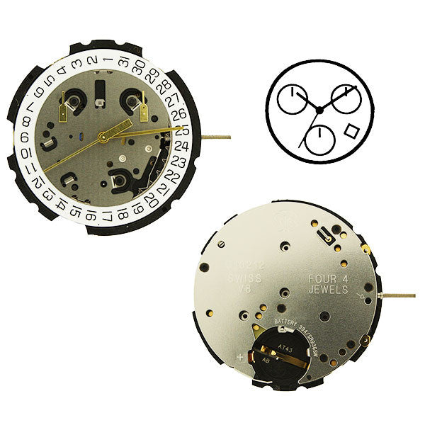 ETA G10-212-4 Suspended Watch Movement (9346062148)