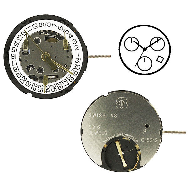 ETA G15-212 4 Suspended Watch Movement (9346065860)