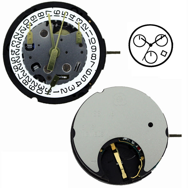 ETA G15-261 Height 1 Watch Movement (9346066372)