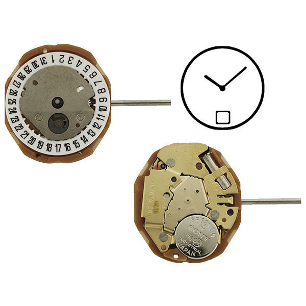 GL15 Date 6 Miyota Watch Movement (9346068548)