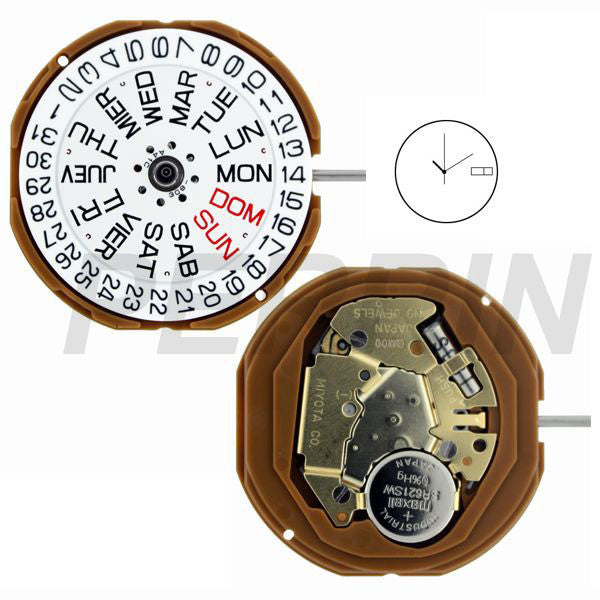 GM00 Watch Movement