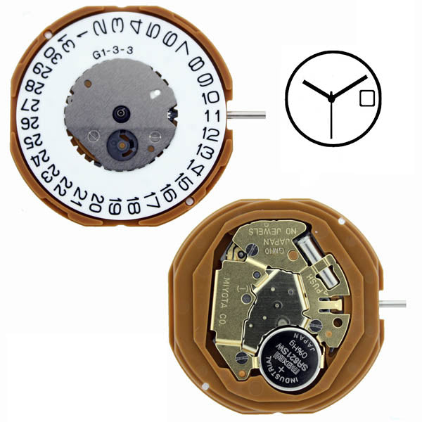 GM10 Miyota Watch Movement