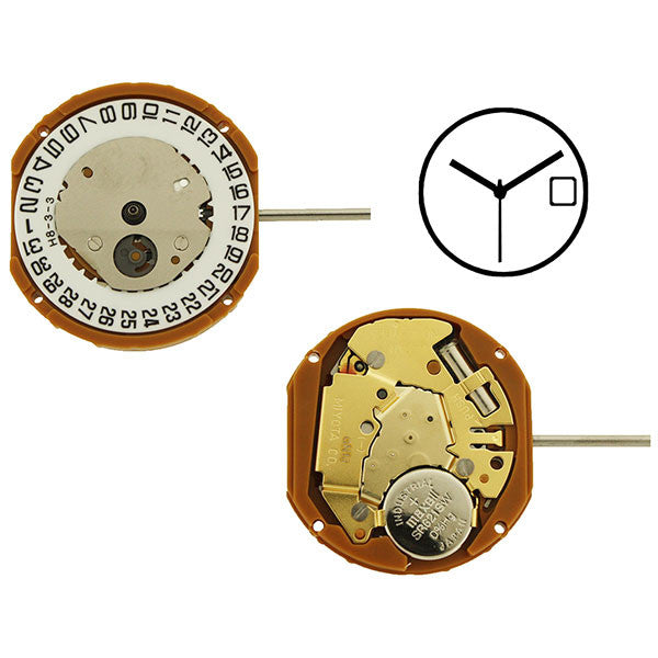 GN10 Miyota Watch Movement