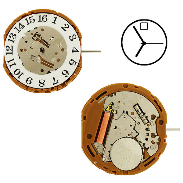 GP30 Miyota Watch Movement (9346072644)