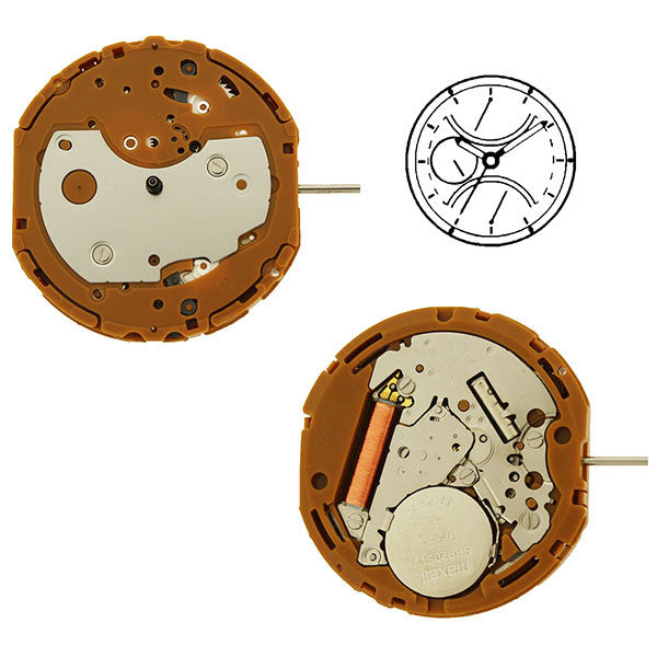 GP52 Miyota Watch Movement